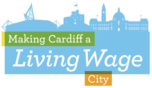 Cardiff Living Wage City logo