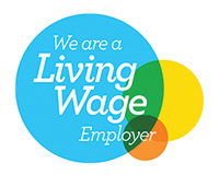 We're a liiving wage employer